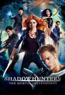 Resultado de imagem para poster da serie Shadowhunters